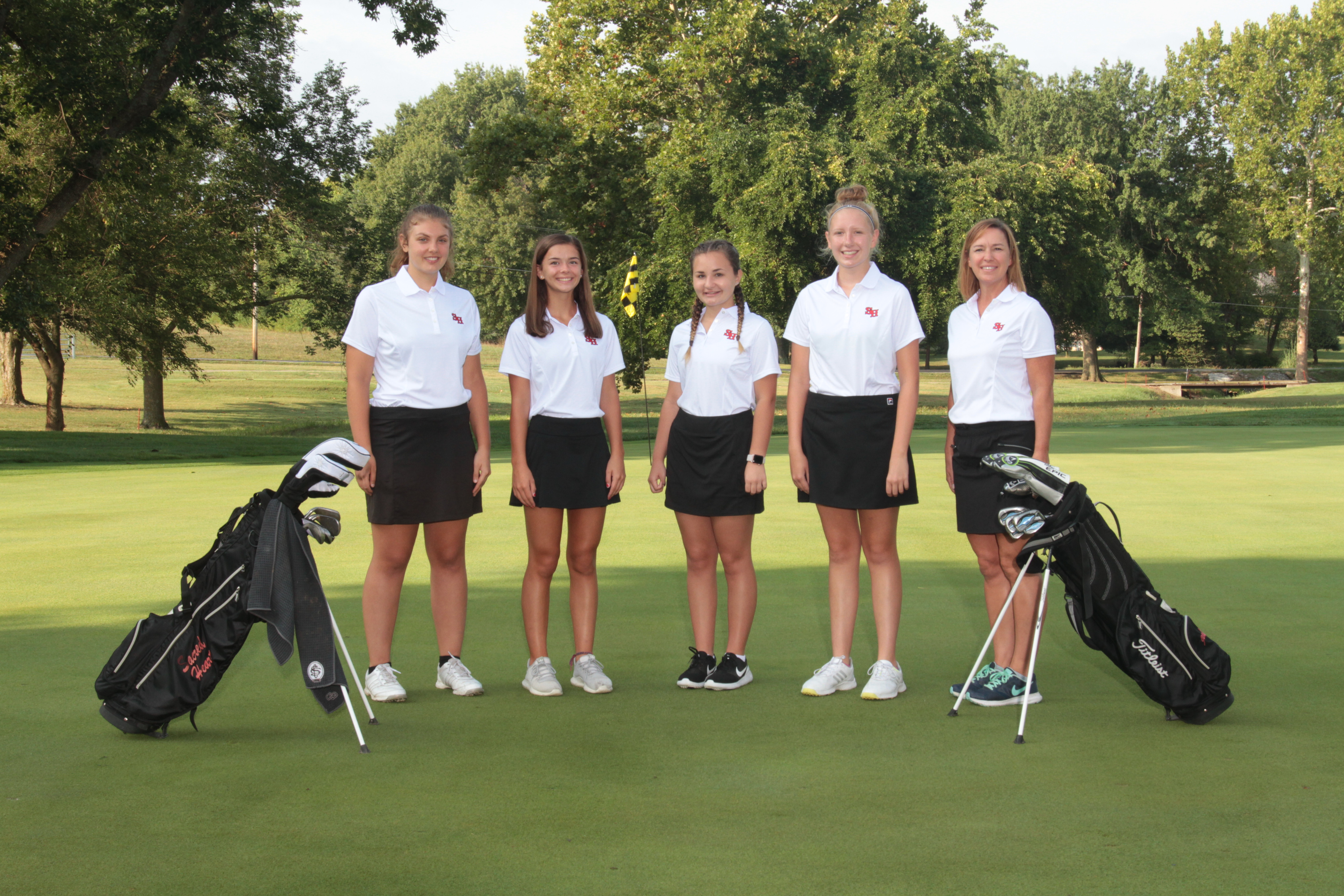 2018 Gremlin Ladies Golf Team
