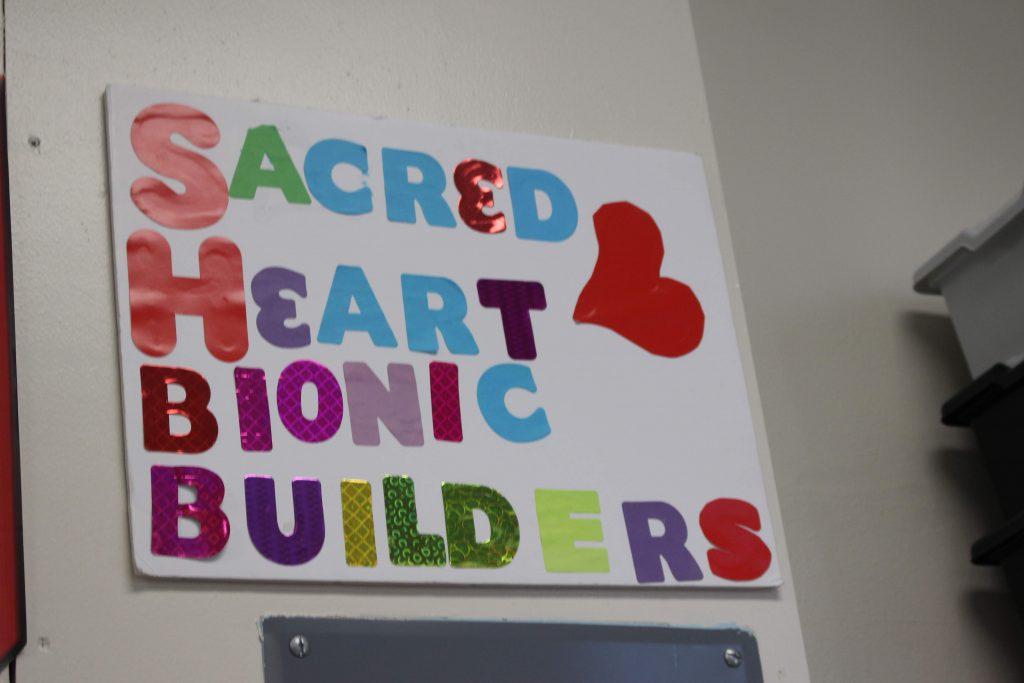 Sacred Heart Bionic Builders #2580